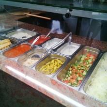 Zálivky - česneková, bylinková, pálivá - Hollywood kebab haus, Teplice