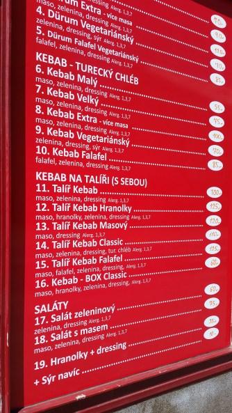 Bosfor Kebab, Plzeň
