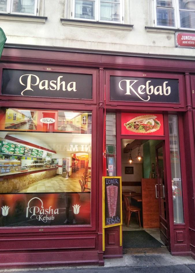 Pasha kebab Jungmanova, Praha