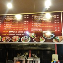 Menu - Kebab Star & Pizza Dejvice