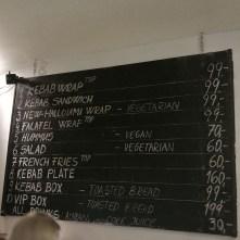 Nabídka a ceny - Checkout Food Francouzská, Praha