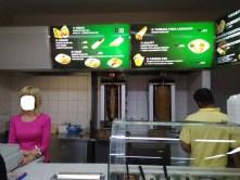 Menu, maso na grilu a obsluha - Bistro Lanka, Praha