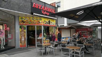 Istanbul kebab v Drážďanech