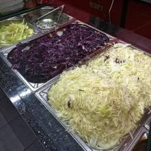 Hromada zelí, kurděje nehrozí - Antalya kebab Nusle