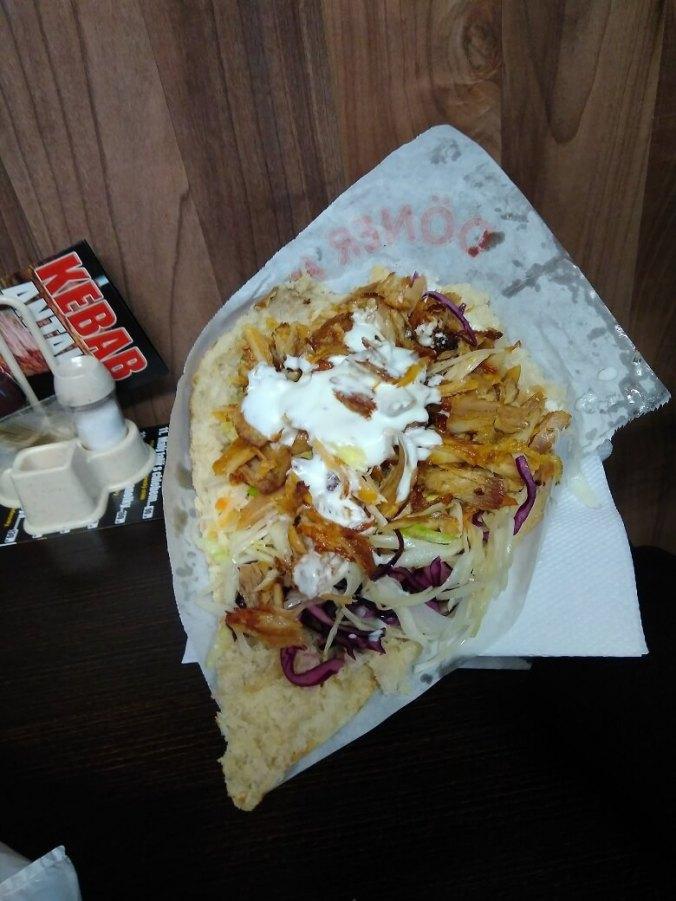 Druhý, kuřecí, doner - Antalya Kebab Praha Břevnov