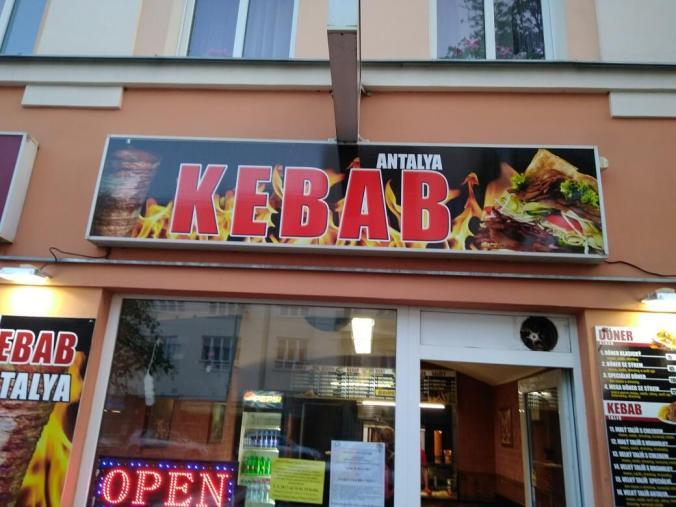 Exteriér - Antalya Kebab Praha Břevnov