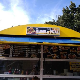 Exteriér - Mr. Kebab & Pizza (Praha)