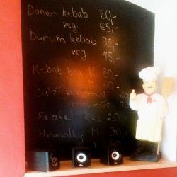Nabídka a pizzař - Kebab u kulturáku, Ústí n. L.