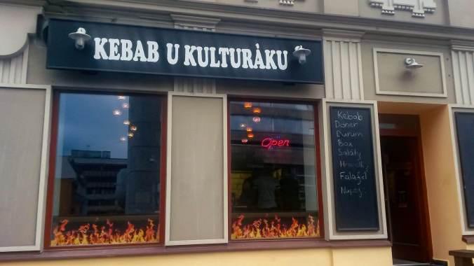 Kebab u kulturáku (Ústí nad Labem)
