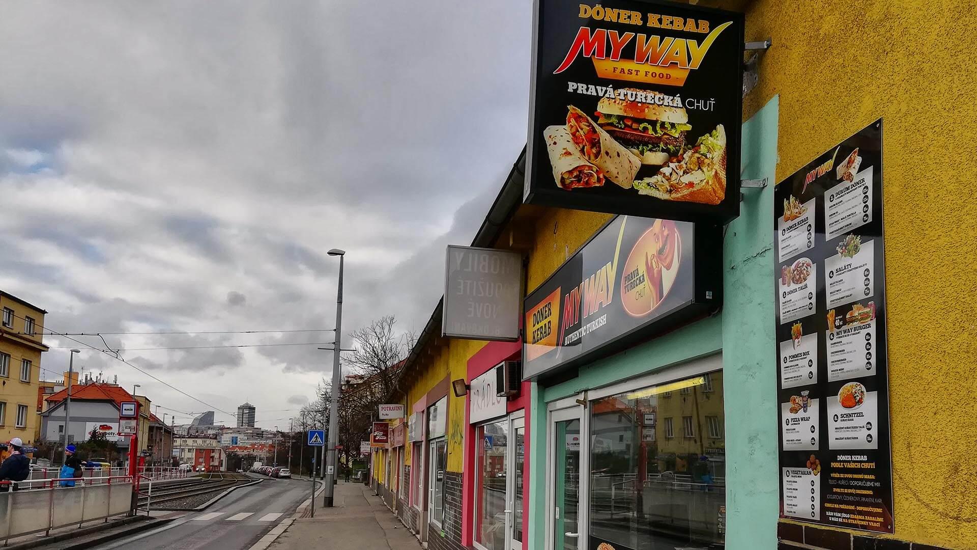 MyWay Döner Kebab Průběžná (Praha)
