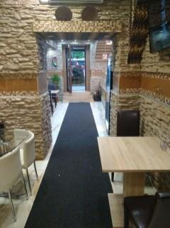 Interiér - Bustan kebab, Praha