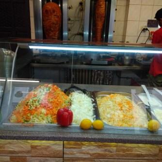 Masa a zelenina - Kassan Kebab Turnov