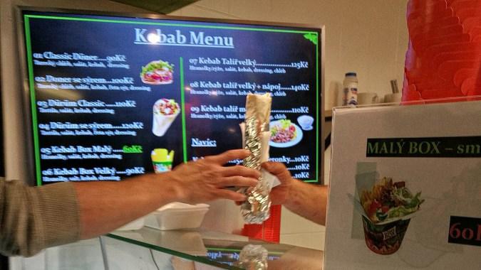 Kebab & falafelova! (Praha)