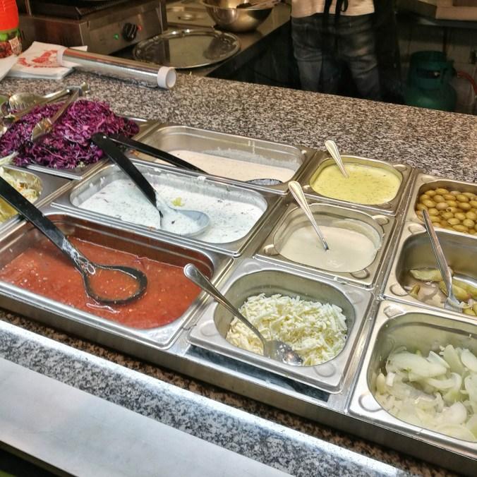 Zálivky - Kebab & falafelova!, Praha