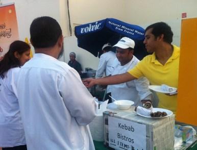 Kebab Bistro at Al Noor Family Fun Day