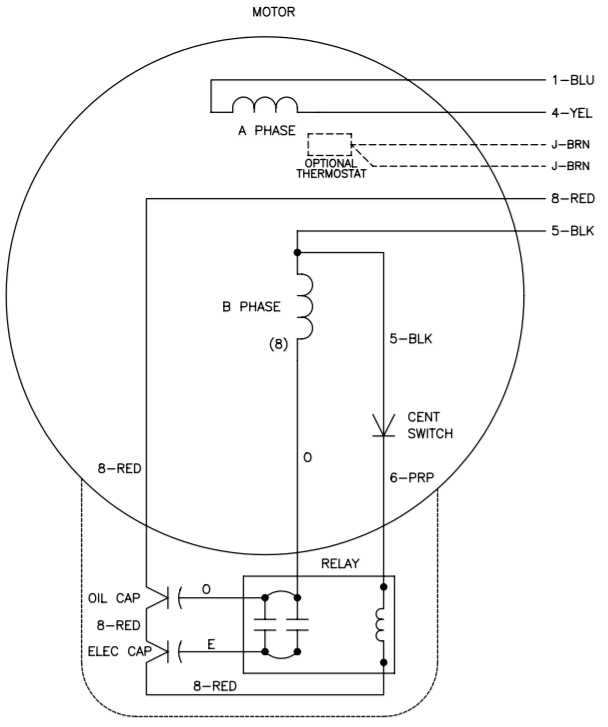 Weg Single Phase Motor Wiring Diagram With Capacitor