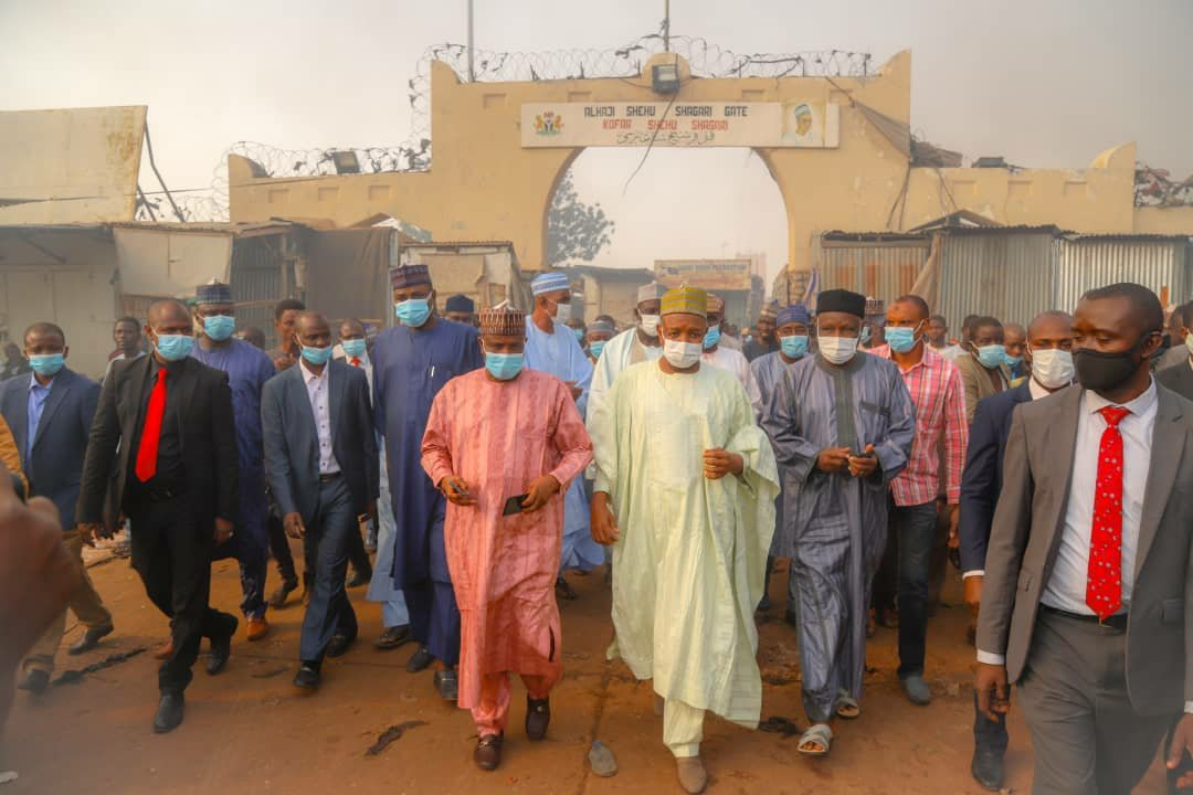 Kebbi Govt donates N 30m to Sokoto Central Market fire victims