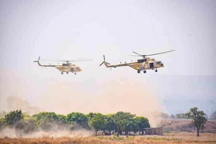 Nigerian Air Force combs Kaduna forests, eliminates many bandits, their hideouts