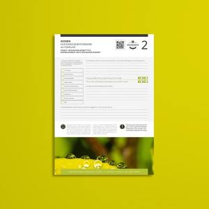 Kedron Customer Questionnaire A4 Template