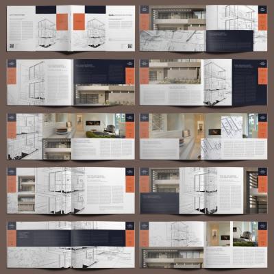 Apella Architecture Portfolio A4 Landscape - Layouts