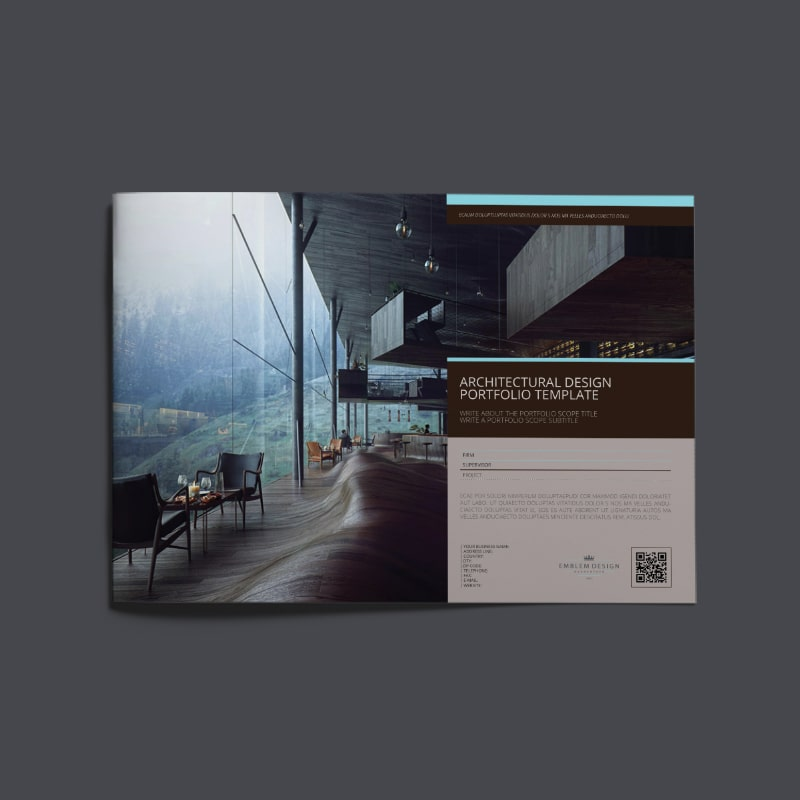 Architectural Design Portfolio Template