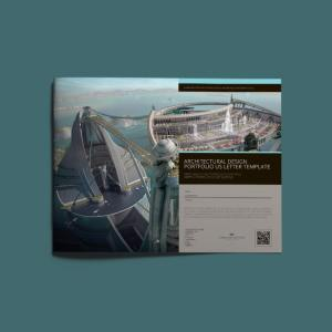 Architectural Design Portfolio US Letter Template