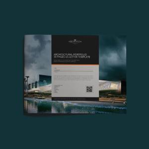 Architecture Portfolio 30 Pages US Letter Template