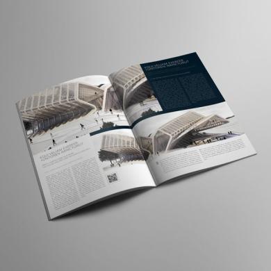 Architecture Portfolio A4 Bifold Template – kfea 1-min