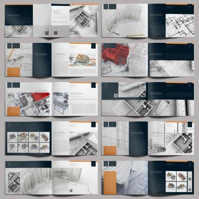 Architecture Portfolio Pro Template - Layouts