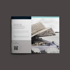 Architecture Portfolio Pro US Letter Template