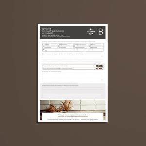 Apostasis Customer Questionnaire A4 Template