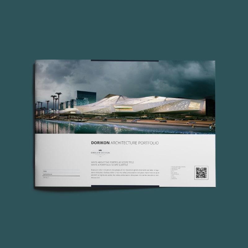 Dorikon Architecture Portfolio A4 Landscape