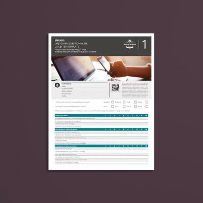 Entasis Customer Questionnaire US Letter Template