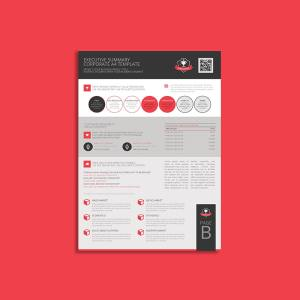 Executive Summary Corporate A4 Template