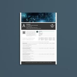 Genikon Customer Questionnaire A4 Template