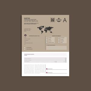 Karton Absentee Report US Letter Template