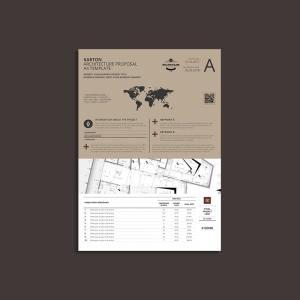 Karton Architecture Proposal A4 Template
