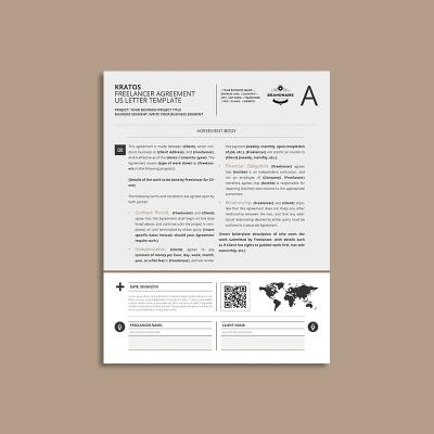 Kratos Freelancer Agreement US Letter Template