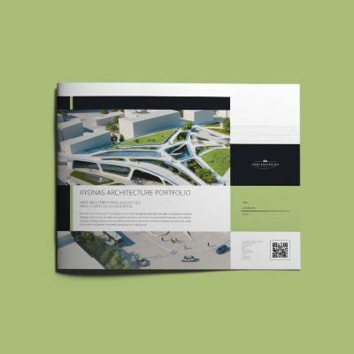 Kyonas Architecture Portfolio US Letter Landscape