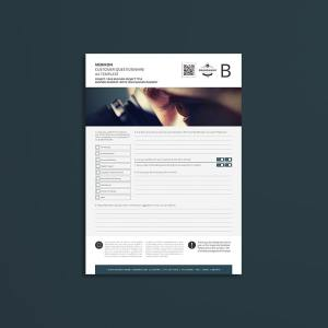 Merikon Customer Questionnaire A4 Template