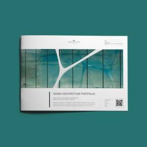 Nemea Architecture Portfolio A4 Landscape