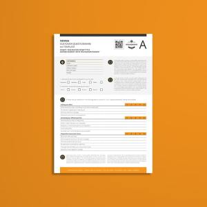 Nemma Customer Questionnaire A4 Template