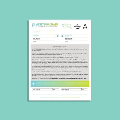 Octo Asset Purchase Agreement US Letter Template