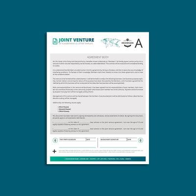 Octo Joint Venture Agreement US Letter Template