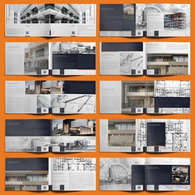 Petra Architecture Portfolio A4 Landscape - Layouts