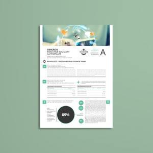 Sigma Executive Summary A4 Template