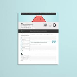 Tasis Customer Questionnaire US Letter Template