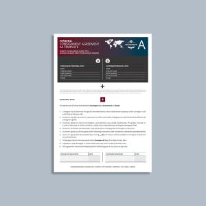Tessera Consignment Agreement A4 Template