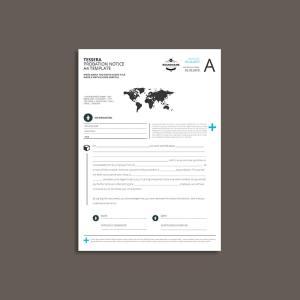 Tessera Probation Notice A4 Template