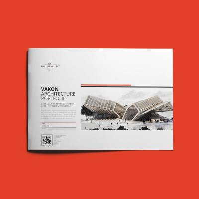 Vakon Architecture Portfolio A4 Landscape